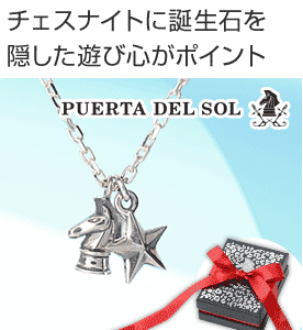 PUERTA DEL SOL JWELL別注ネックレス NE617J